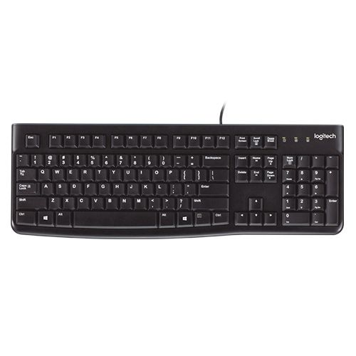 Logitech Wired Usb Keyboard K120 920-002582