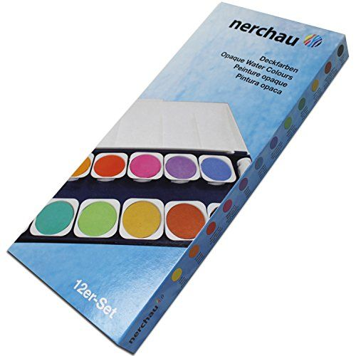 Lukas Terzia Plastic Box Watercolours (12 Colours)