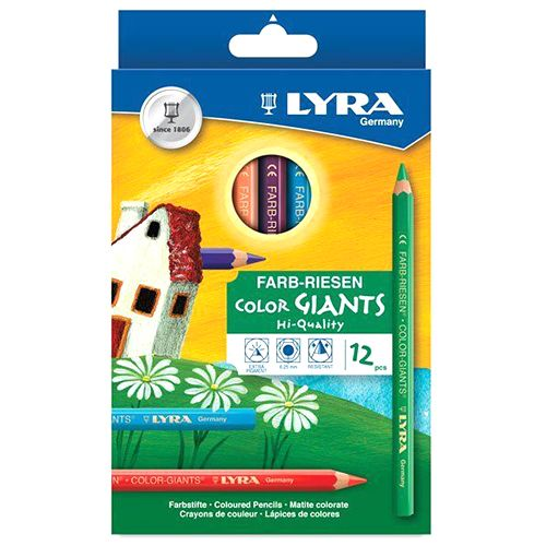 Lyra Color Giants Pencil - 12/pack 3931120