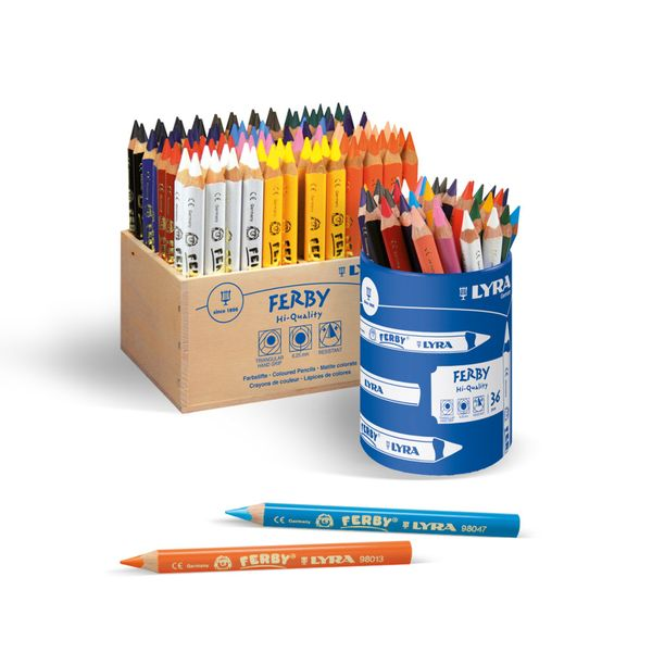 Lyra Ferby Colour Pencil School Pack Assorted