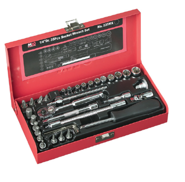 M10 1/4 Dr Socket Set 235MX