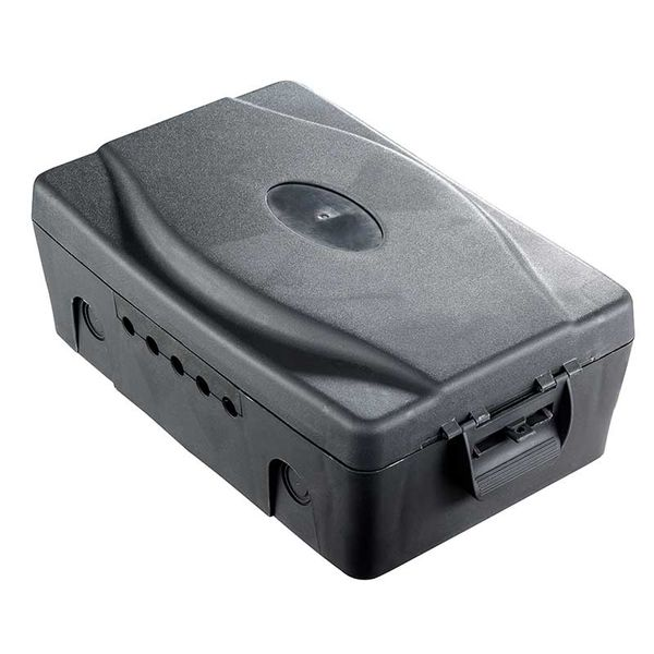 Masterplug Weatherproof Box With 5 Cable Outlets, WBX-MP