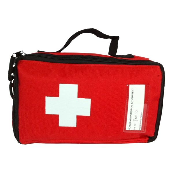 Medical First Aid Canvas Pouch
