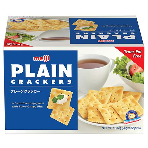 Meiji Plain Cracker 26g X 32 Pieces/pack