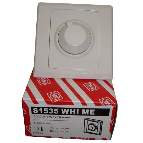 Mk Electric 1000w 1g Dimmer - S1535
