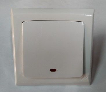 Mk Electric Wide Rocker Water Heater Switch - S4787N