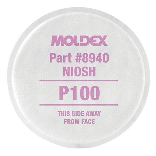 Moldex P100 Particulate Filters 30 Pair/box 8940
