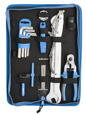 Unior Set of Bike Tools 17 Pcs in Bag 1600a6
