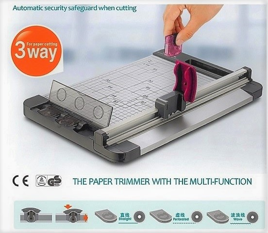 Jielisi paper rotary trimmer - multi blades - A4+