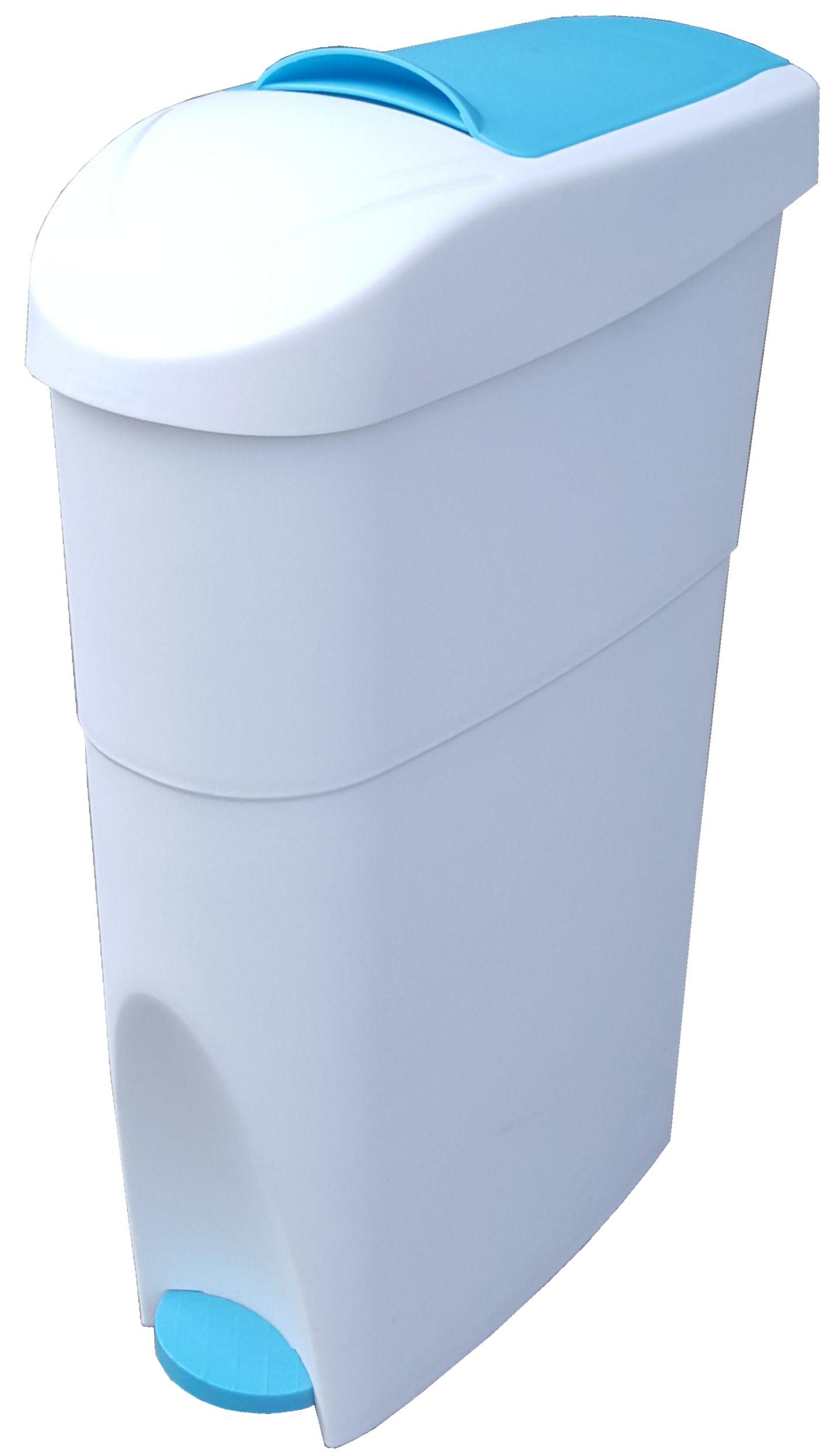18-Litres Plastic Sanitary Pad Pedal Bin