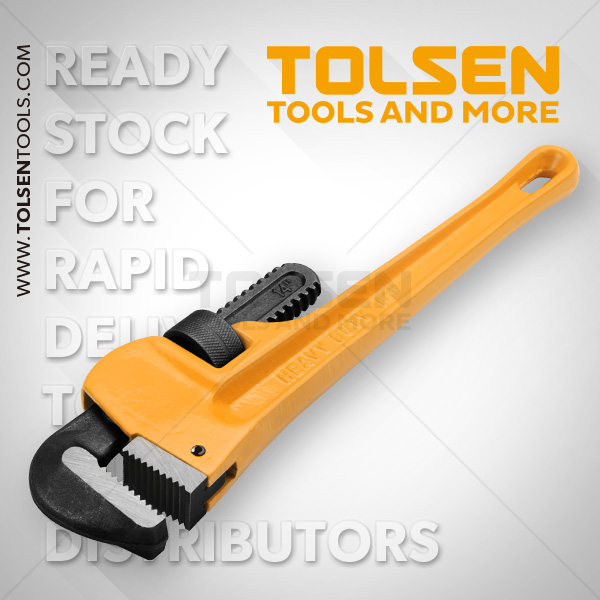 Tolsen St Pipe Wrench