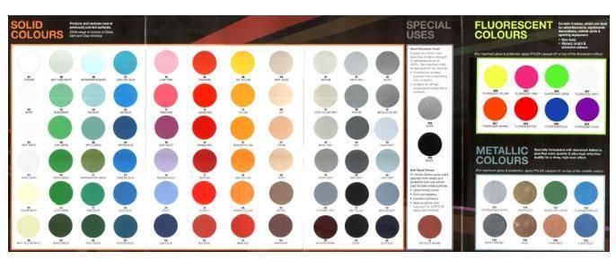 Nippon Paint - Pylox Spray Paint - 400cc [80 Colours
