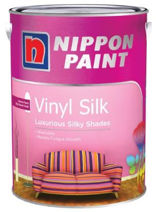 Nippon Paint - Vinyl Silk - 5 Litres [1310 Colours]