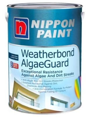Nippon Paint - Weatherbond AlgaeGuard - 20 Litres [47 Colours]