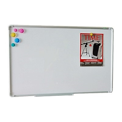 900 X 1200mm Whiteboard - Magnetic - Full Kit