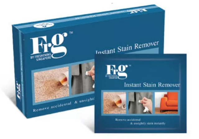 FRG Instant Stain Remover Wipes (24 Pack a Carton)
