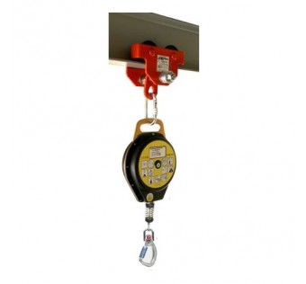 Accsafe CR200 Self-Retracting Fall Arrester Plastic Case Galvanised Steel Cable and Snap Hook