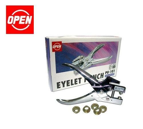 Open Brand Brass Eyelet Punching and Reivets - (日本制,鸡眼打孔器)