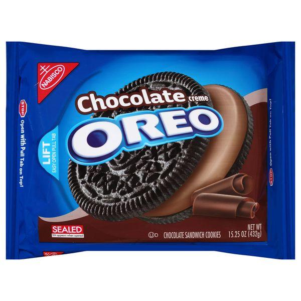 Oreo Chocolate Sandwich Cookies 12box X 274g