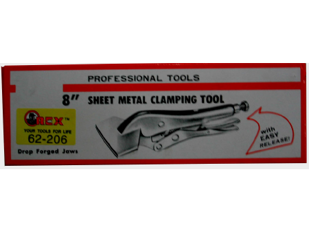 Orex Locking Sheet Metal Tool With Easy Release 8inch
