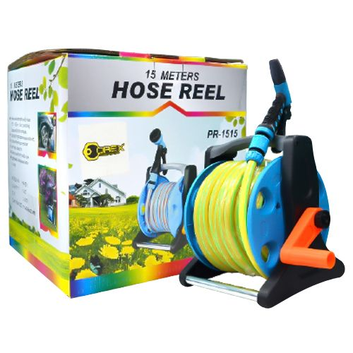 Orex Garden Hose Reel Cart With 15m Hose