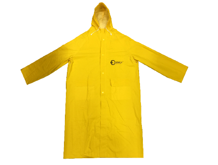 Orex Heavyduty Visibility Knee Length Rain Coat