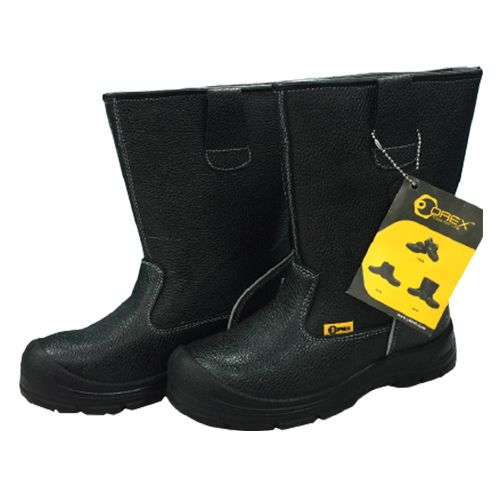 Orex High Cut Safety Shoe With Steel Toe & Cap