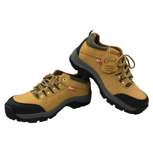 Orex Safety Shoe With En20345 Toe & Plate Nubuk Action Leather