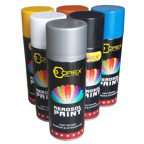 Orex Spray Paint 400ml (12 Cans)
