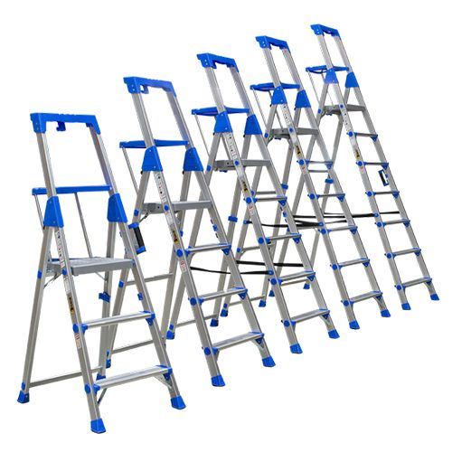 Orex Stainless Steel Household Ladder