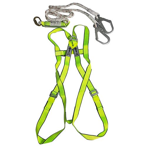 Osprey Full Body Harness Os08 With Energy Absorber Lanyard Os02k