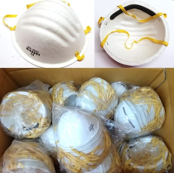 Particulate Respirator N95 Type Cone Mask-20pcs