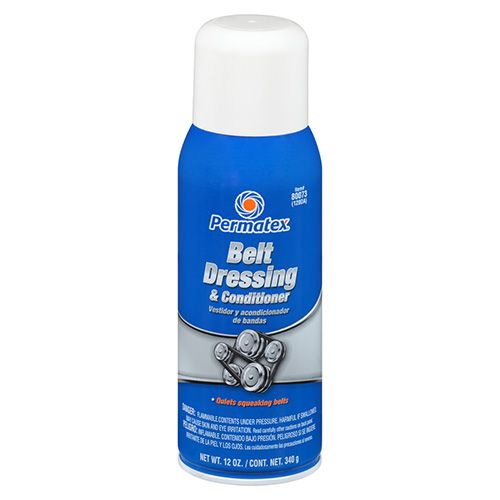 Permatex Belt Dressing and Conditioner 80073 16 OZ CAN, 12 OZ NET