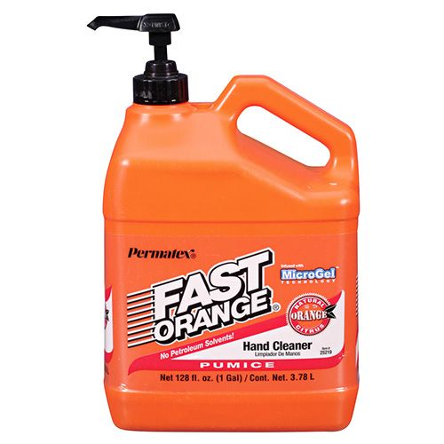 Permatex Fast Orange Pumice Hand Clean 25218 F.ORANGE 1GAL