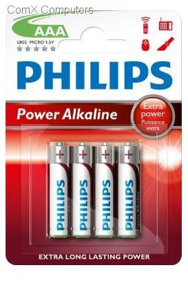 Philips Power Life 4xaaa Alkaline, LR03P4B/97