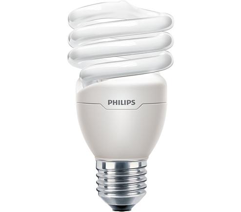 Philips Tornado 240v 20w E27 Cfl Warm White