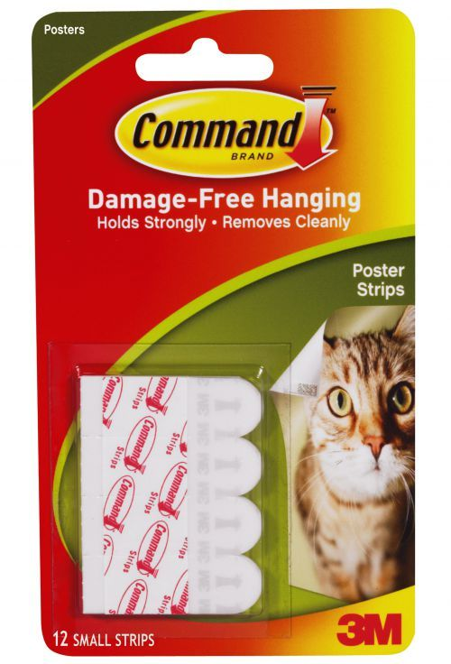 Pk12 3m 17024 Command Poster Strips