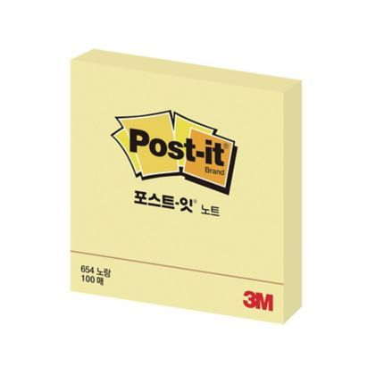 3m Post-it Notes 654cy