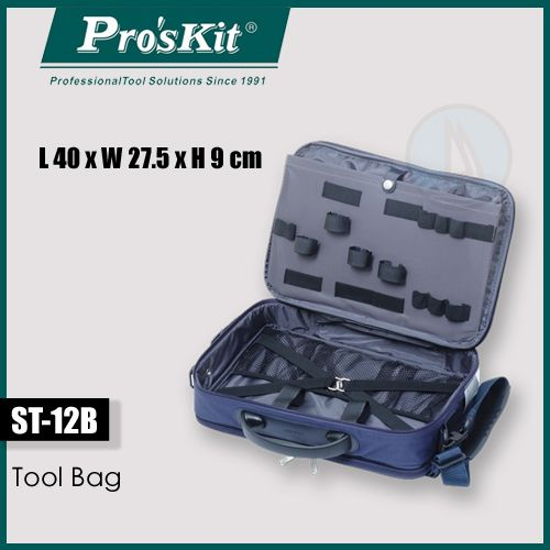 Pro'skit Tool Bag - Ideal for Tools, Books, Laptop or Travel Bag (pro'skit)