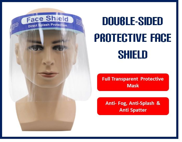 Protective Face Shield- (full Face)