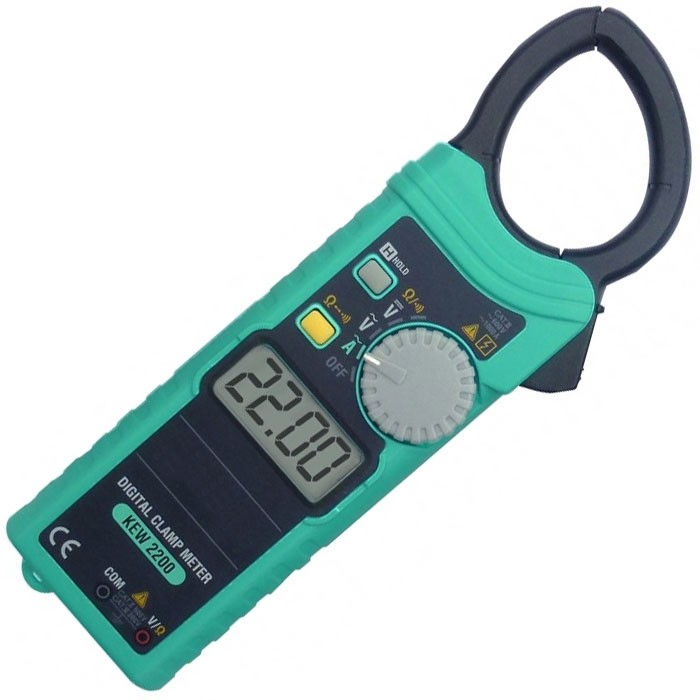 Kyoritsu KEW 2200R Ac Digital Clamp Meter With True Rms
