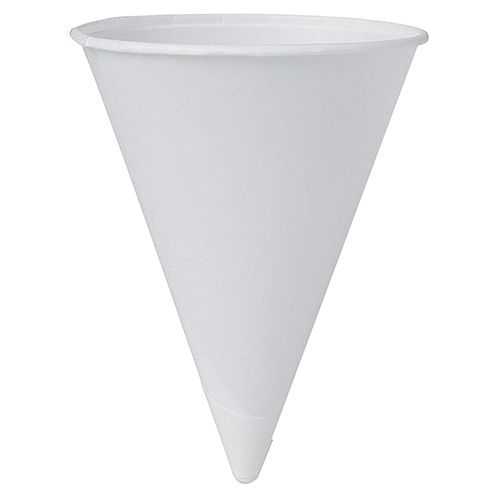 Pte Label Josco Cone Paper Cup 4oz