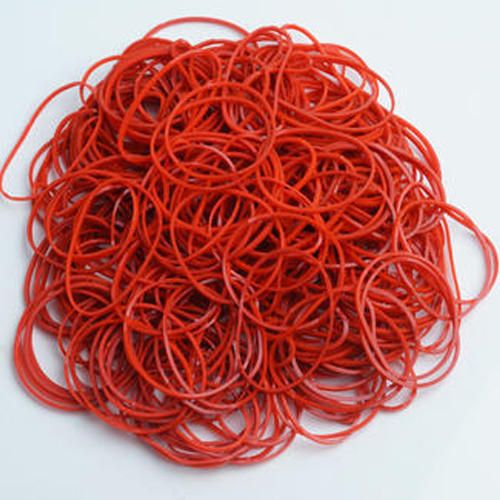 Pte Label Rubber Band Red 0.15 X 0.15 X 7cm