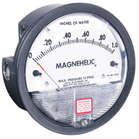 DWYER MAGNEHELIC® DIFFERENTIAL PRESSURE GAUGES 2000
