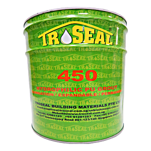 Troseal 450 Hydrophilic Single Component PU Grouting 10KG