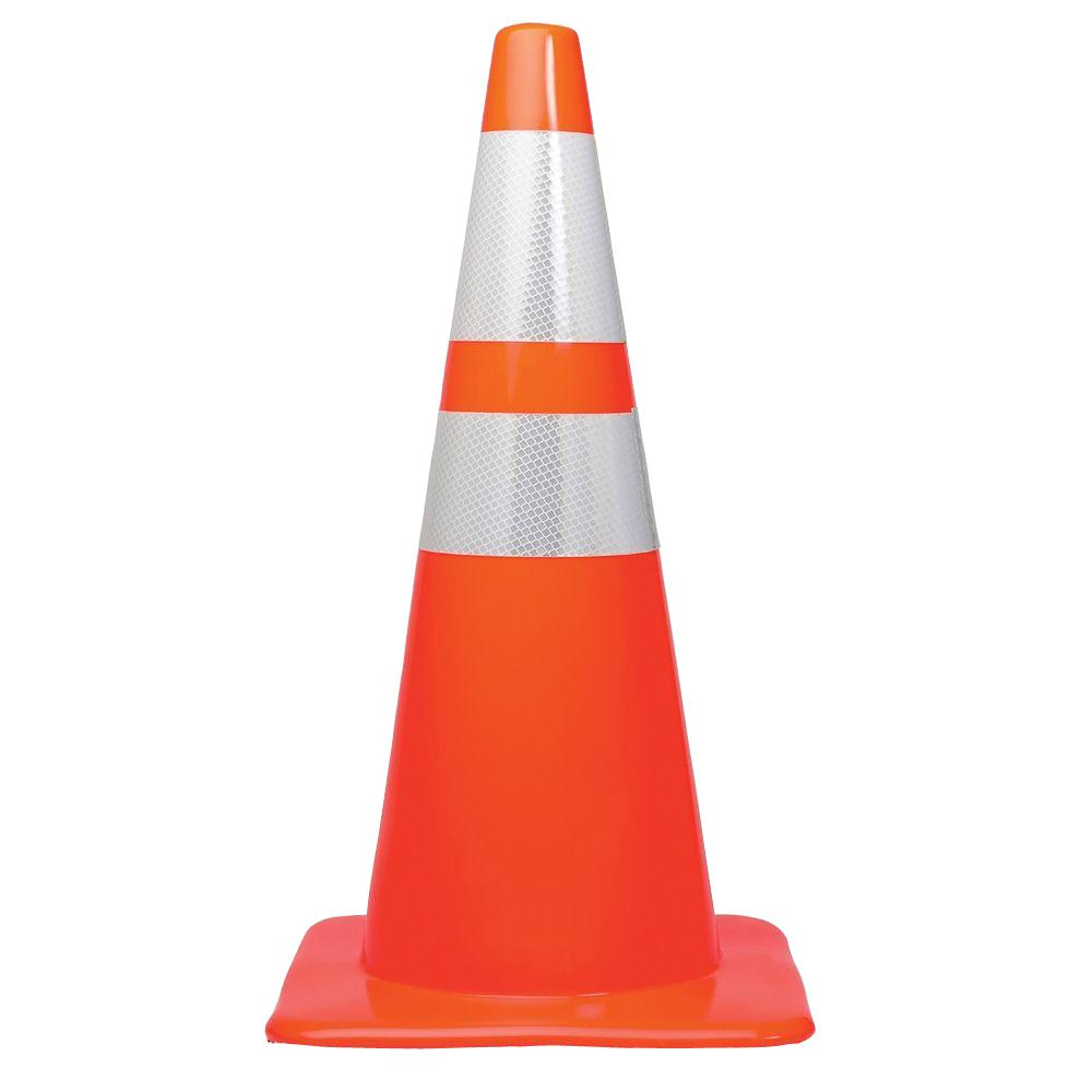 Kkh Unbreakable Traffic Safety Cones With Reflective
