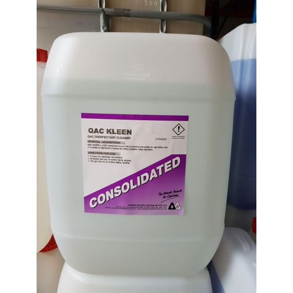 QAC Kleen - Concentrated Disinfectant (benzalkonium Chloride)