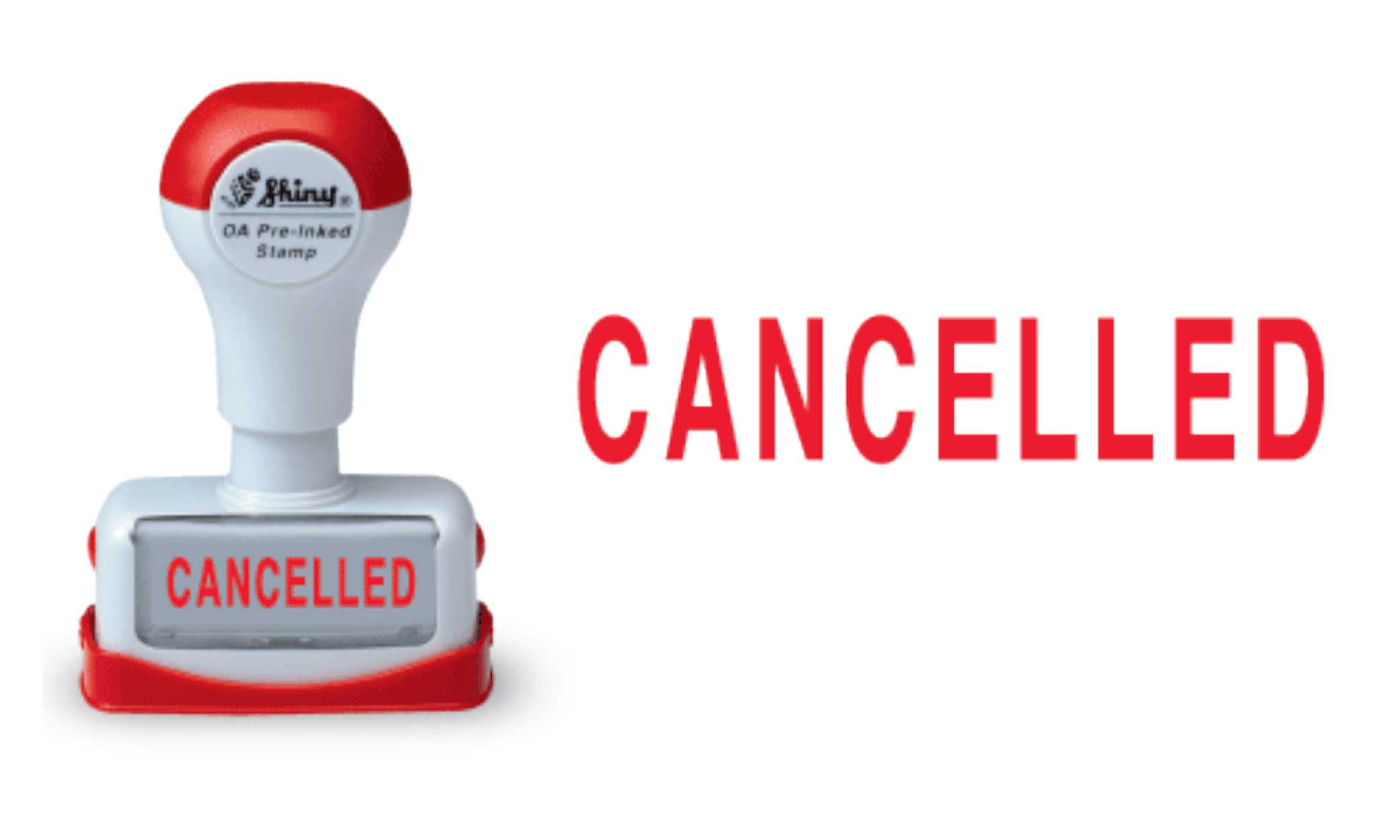 Cancelled - OA Pre ink