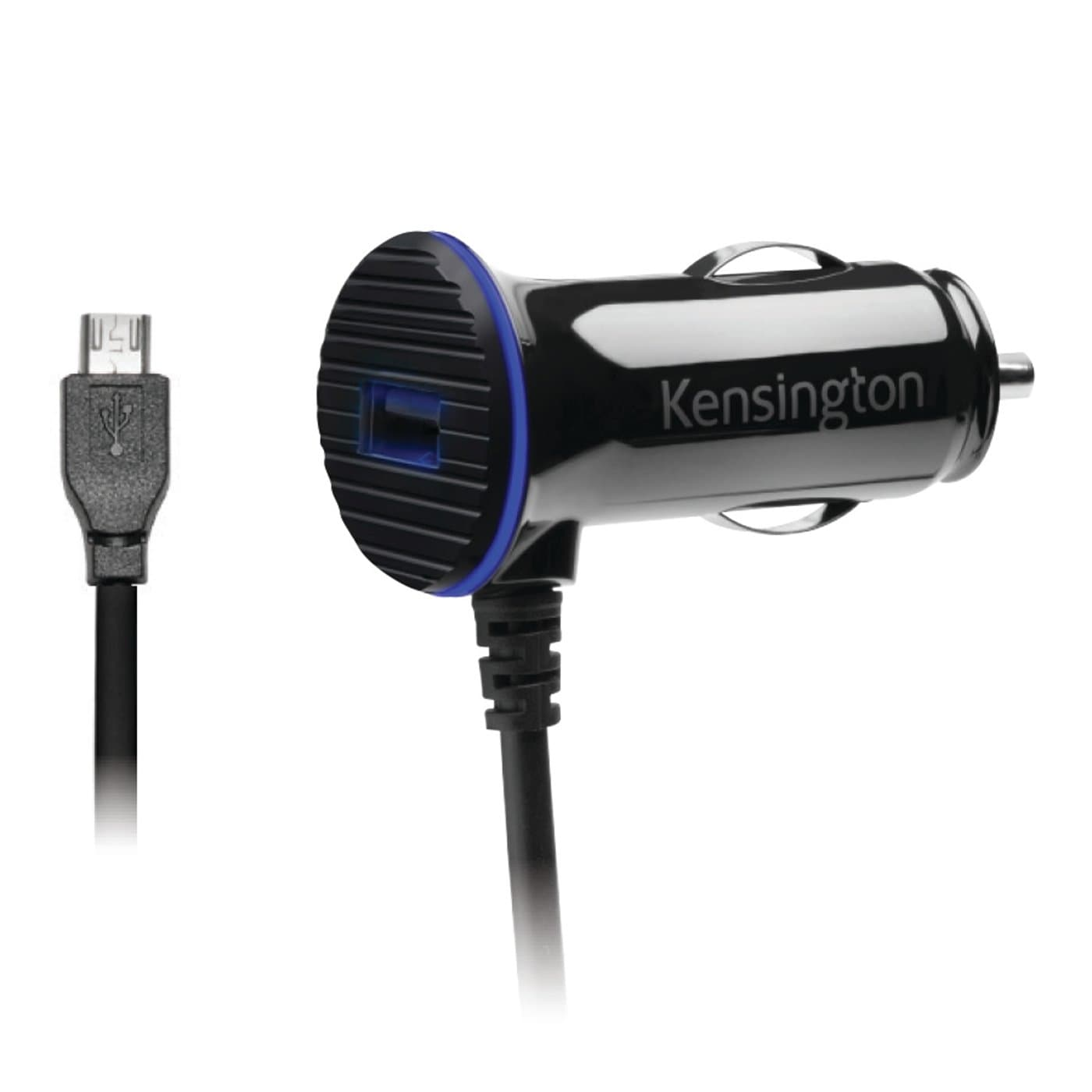 KENSINGTON PowerBolt™ 3.4 Dual Fast Charge Car Charger with Micro USB Cable K38119WW