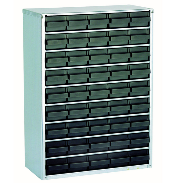 Raaco 45W ESD Drawers Cabinet, Earth Wire Included (item No.118231) ( Made in Denmark)
